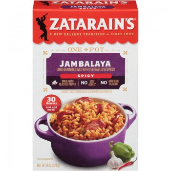 Zatarain's Spicy Jambalaya Mix 8 Oz