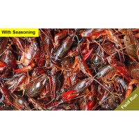 Live Crawfish Field Run Sack w/ Seasoning