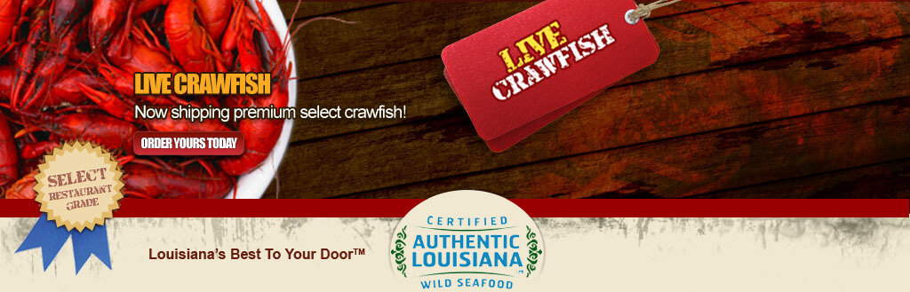 Live Crawfish for Sale